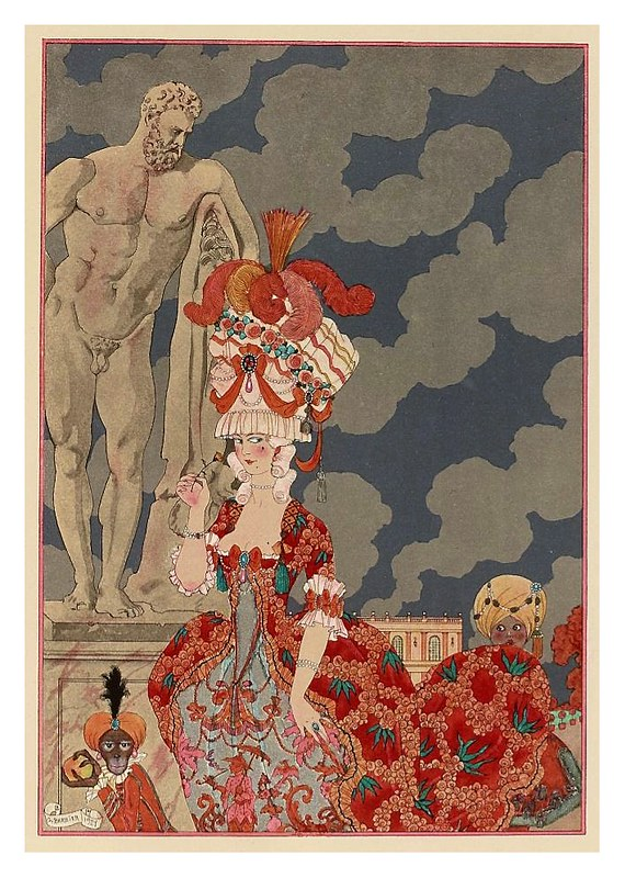 002-Cortejo-Fêtes galantes. Illustrations de George Barbier-1928-Gallica