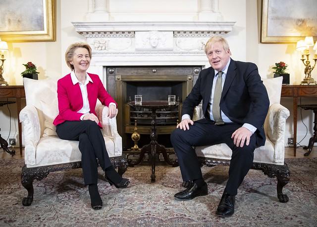 Bilateral meeting between between PM Boris Johnson and President von der Leyen