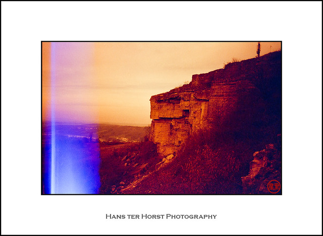 Red Rocks on redscale film