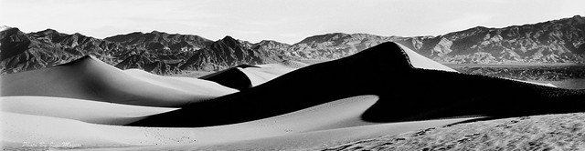Mesquite Flat Dunes Early Morning