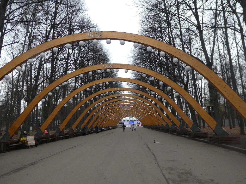 Sokolniki Park entrance way Moscow