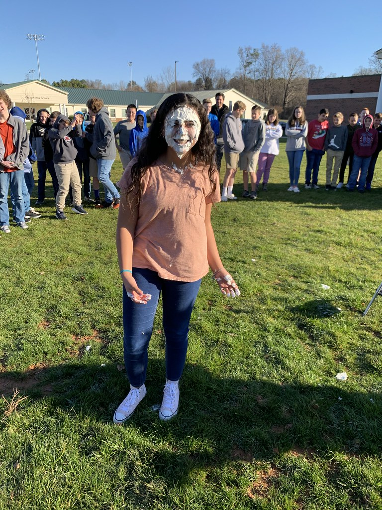 Middle School Pie-in-Face Chapel
