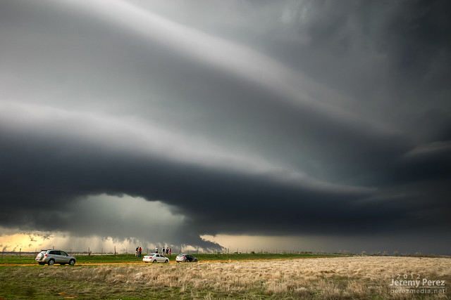 18 March 2012 — Southwest Oklahoma — Supercell Structure
