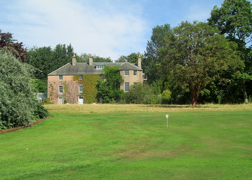 Putting Green and House, Backhouse Rossie Estate