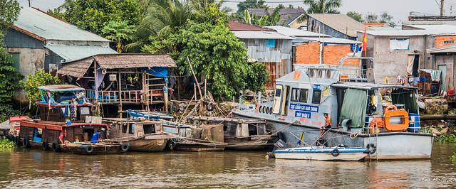 2019 - Vietnam-Avalon-Siem Reap - 5 - Mekong River to Cu Lao Gieng (January) Island