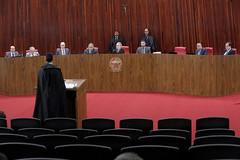 Sessão Extraordinária Administrativa, presidida pela Ministra Rosa Weber, em 08.01.2020