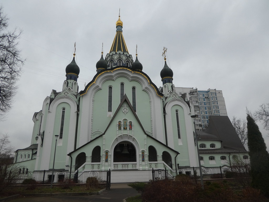 The Church of the Resurrection of Christ, Sokolniki, Moscow
