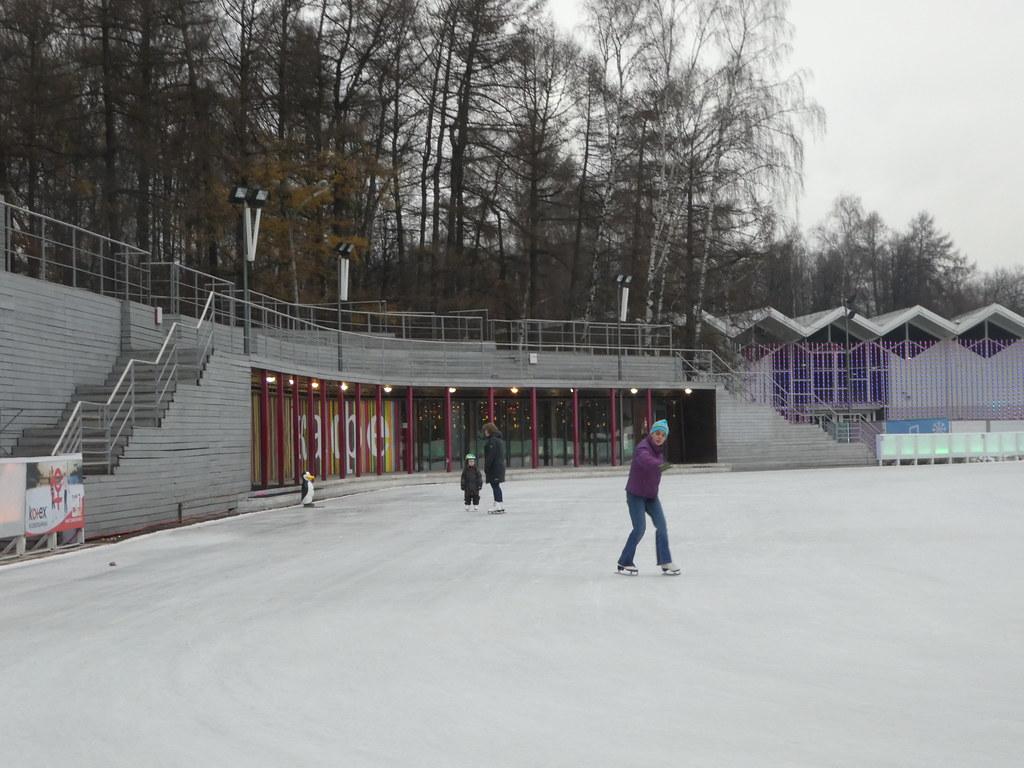 Sokolniki ice rink Moscow
