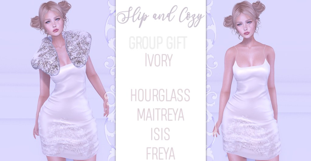 -siss boom-slip and cozy ivory gg