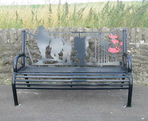 Carmyllie War Memorial Bench