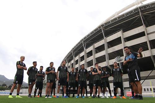 Treino do Botafogo - 08/01/2020