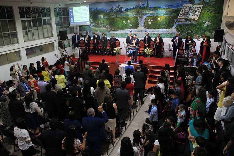 """""""El primer abrazo a nuestro Dios"""" Servicio de Año Nuevo en Iglesia de Rancagua"""