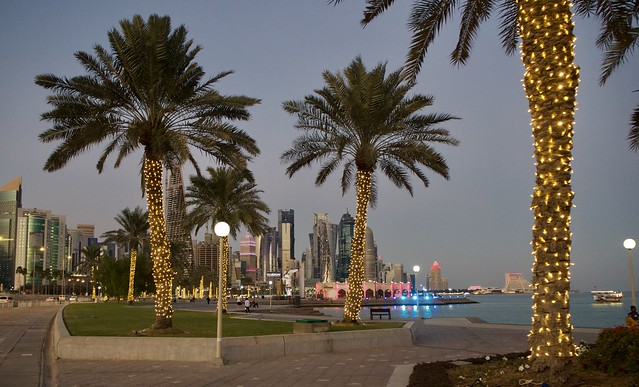 West Bay of Doha @ dusk