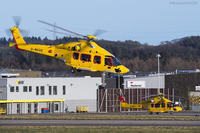 NHV, Airbus Helicopters EC175, G-NHVE.