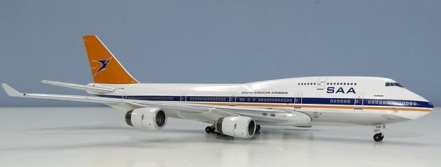 South African Airways Boeing 747-400 ZS-SAV