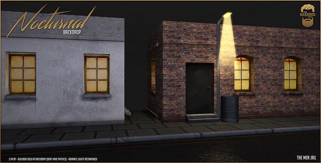 Nocturnal Backdrop @ The Men Jail