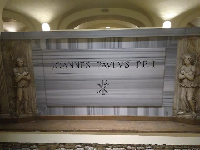 Tomba di San Giovanni Paolo II- Basilica di San Pietro- Vaticano