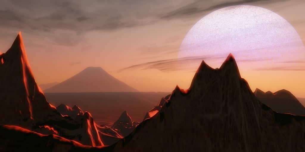 Une exoplanète a été condamnée à mort