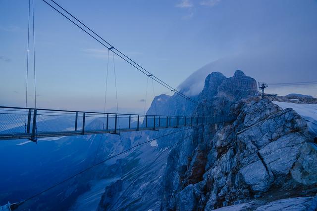 The highest suspension bridge in Austria