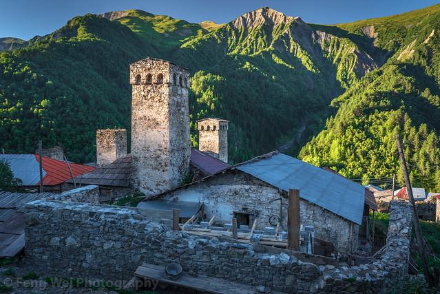 Dawn @ Adishi, Svaneti Region, Georgia