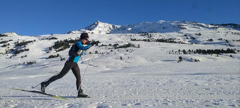 esquí de fondo en Beret