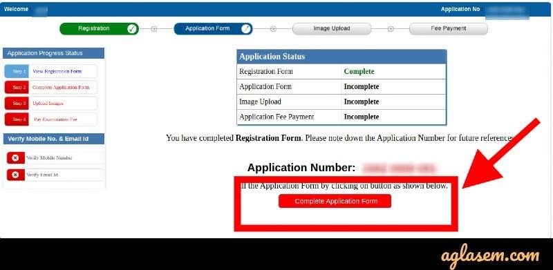 PUBDET / PUMDET application form