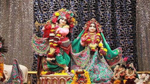 ISKCON Punjabi Bagh Deity Darshan 09 Jan 2020