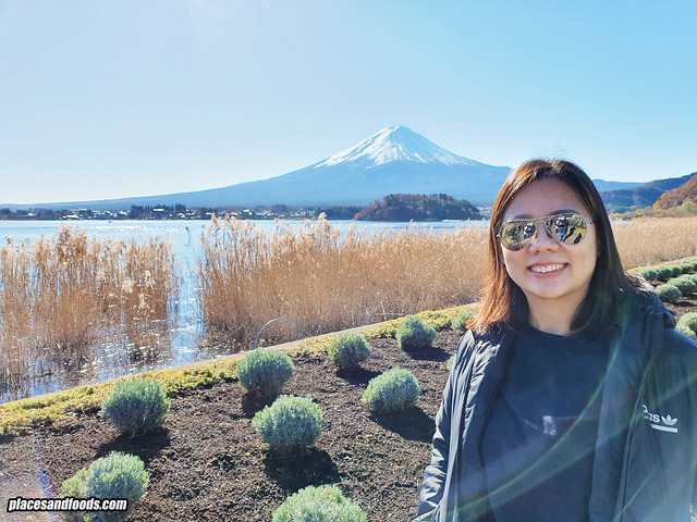 mount fuji lake kawaguchi places and foods