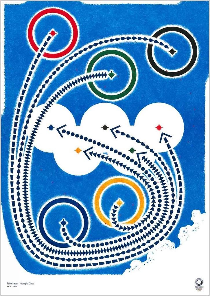 《JoJo的奇妙冒險》參戰奧運!集結浦澤直樹、荒木飛呂彦 等多位藝術家豪華陣容的「2020 東京奧運官方藝術海報展」登場