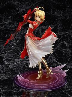 儘管稱頌黃金劇場吧!GSC《Fate/EXTRA》Saber Extra / 尼祿・克勞狄烏斯(セイバーエクストラ)1/7比例模型【再次販售】