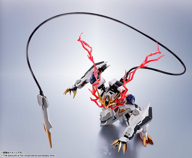 METAL ROBOT魂《機動戰士鋼彈 鐵血孤兒》天狼王型獵魔鋼彈(ガンダムバルバトスルプスレクス)商品情報公開!
