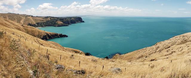 Banks Peninsula  New Zealand.