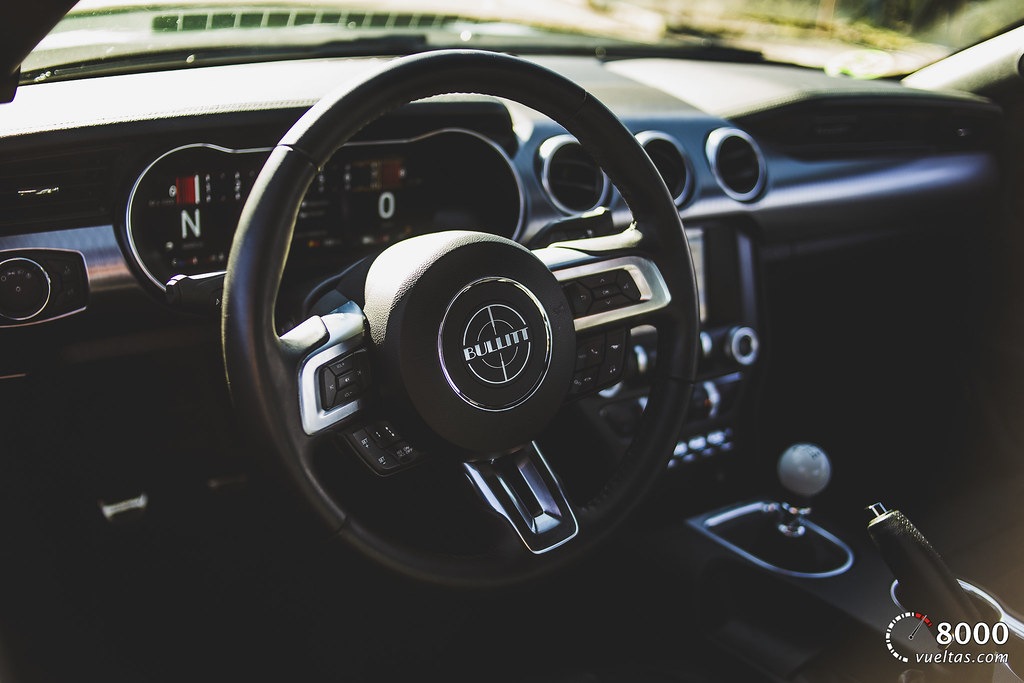 Ford Mustang Bullit - 8000vueltas-48