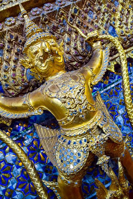 Golden Garuda of Grand Palace
