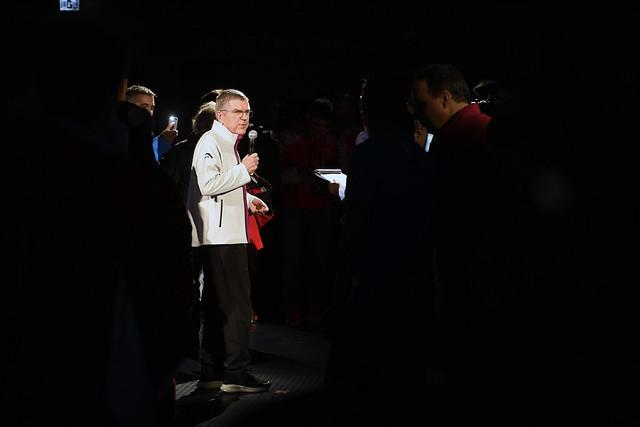 JOJ d'hiver de Lausanne 2020 - Welcome ceremony
