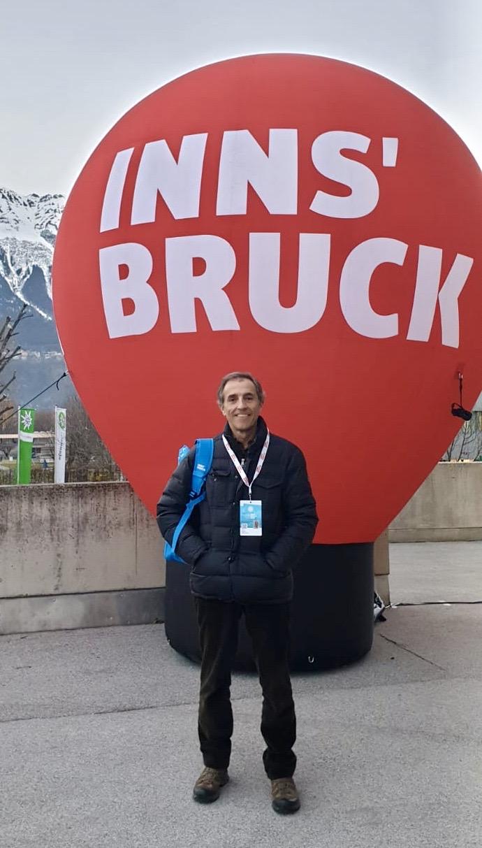 Luis Bobillo en Innsbruck