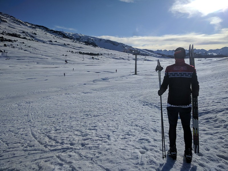 Pista de esquí de fondo en Beret