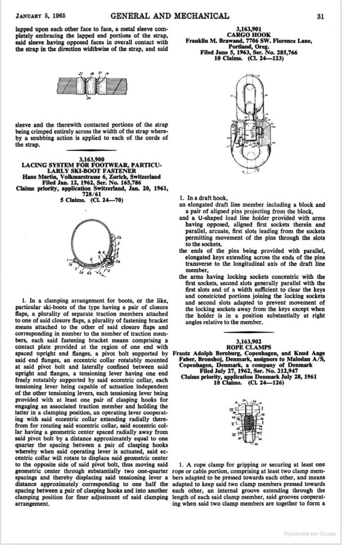 Patente de Hans Martin