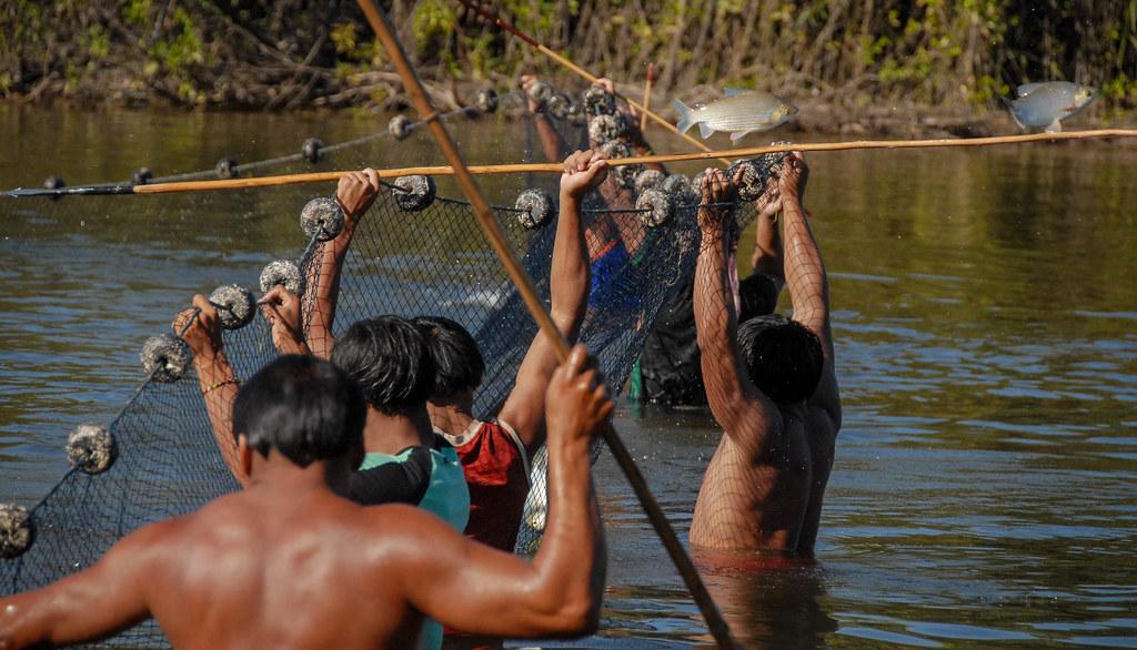pêche à la nivrée