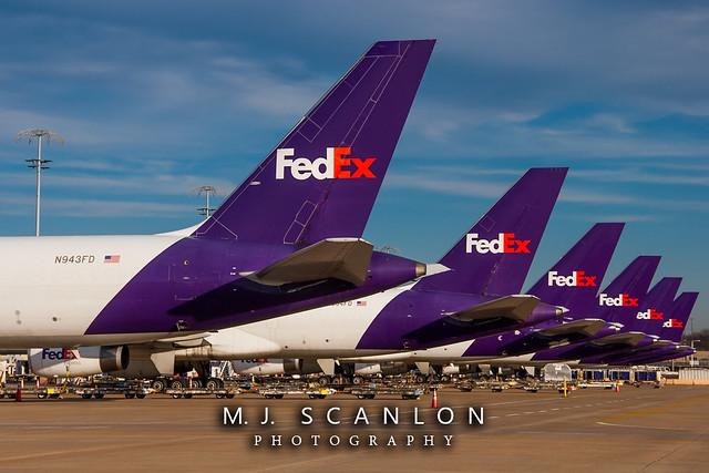 N943FD FedEx   Boeing 757-2G5(SF)   Memphis International Airport