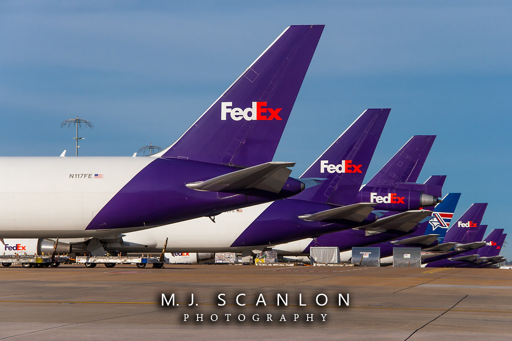 N117FE FedEx | Boeing 767-3S2F(ER) | Memphis International Airport