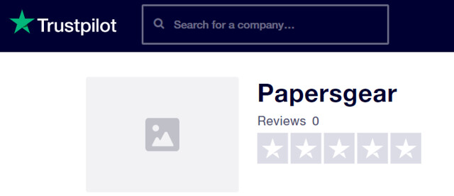papersgear reviews on trustpilot