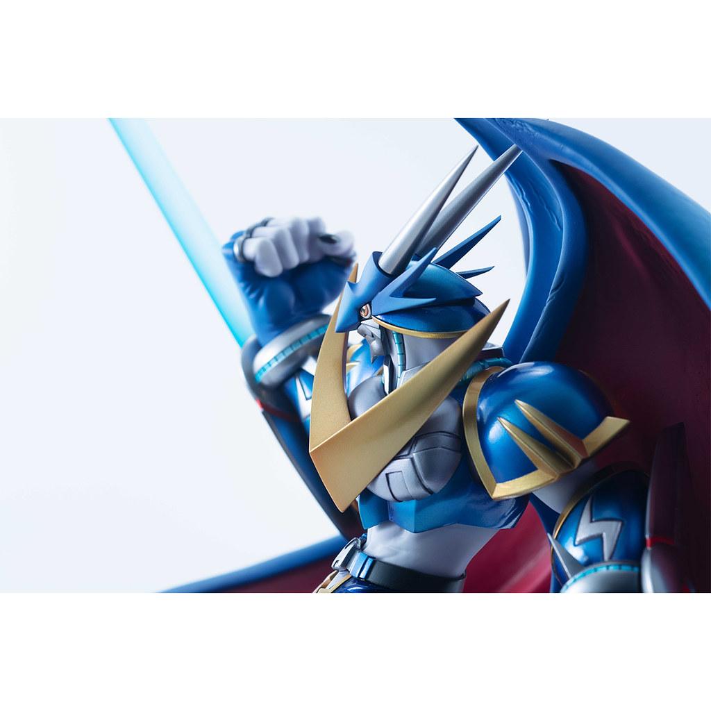 預言中的皇家騎士登場!Precious G.E.M.《數碼寶貝拯救隊》究極V龍獸(アルフォースブイドラモン)PVC塗裝完成品