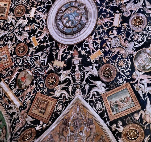 IMG_6606B Parma Couvent San Paolo Alessandro Araldi (1460-1528)  Camera di San Paolo Camera dell'Araldi 1514 Appartements privés de l'abbesse Giovanni da Piacenza Private apartments of the abbess Giovanni da Piacenza