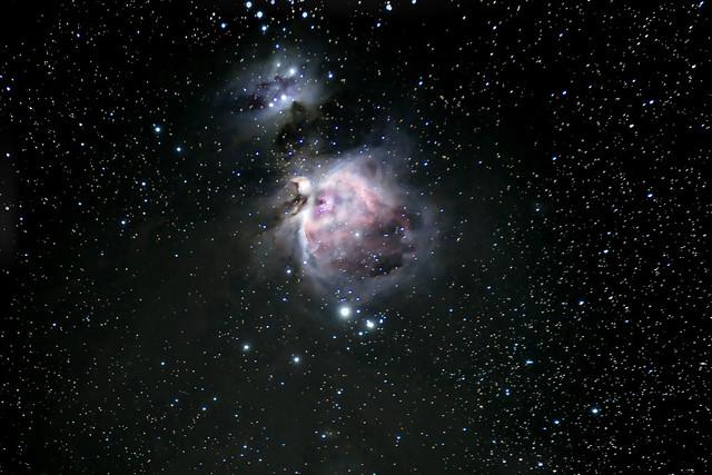 Orion Nebula M42 taken by stock Z7 camera