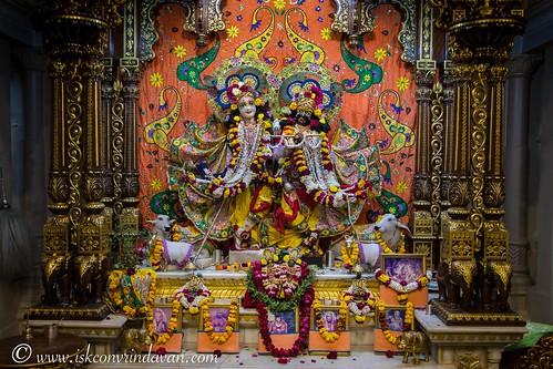 ISKCON Vrindavan Deity Darshan 09 Jan 2020