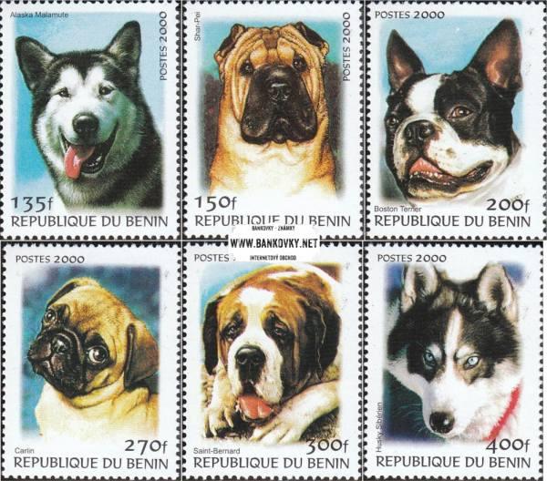 Známky Benin 2000 Psy