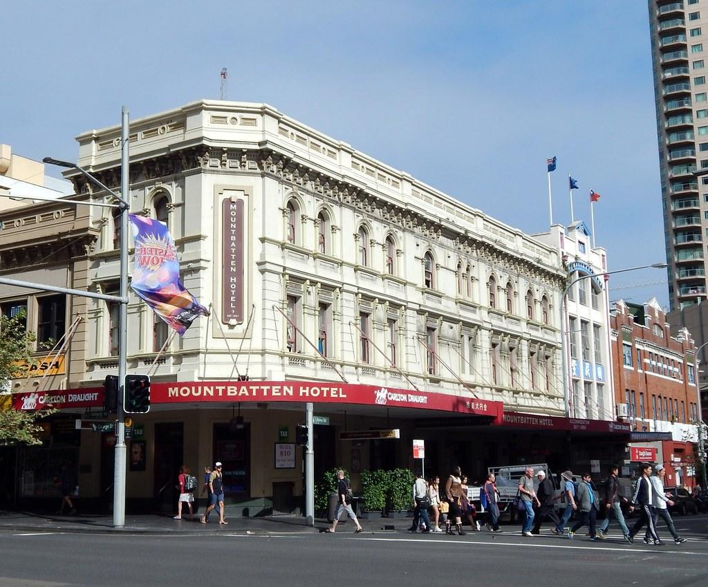 Mountbatten Hotel, Haymarket, Sydney, NSW.