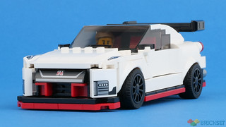The Nissan GT-R Nismo without stickers