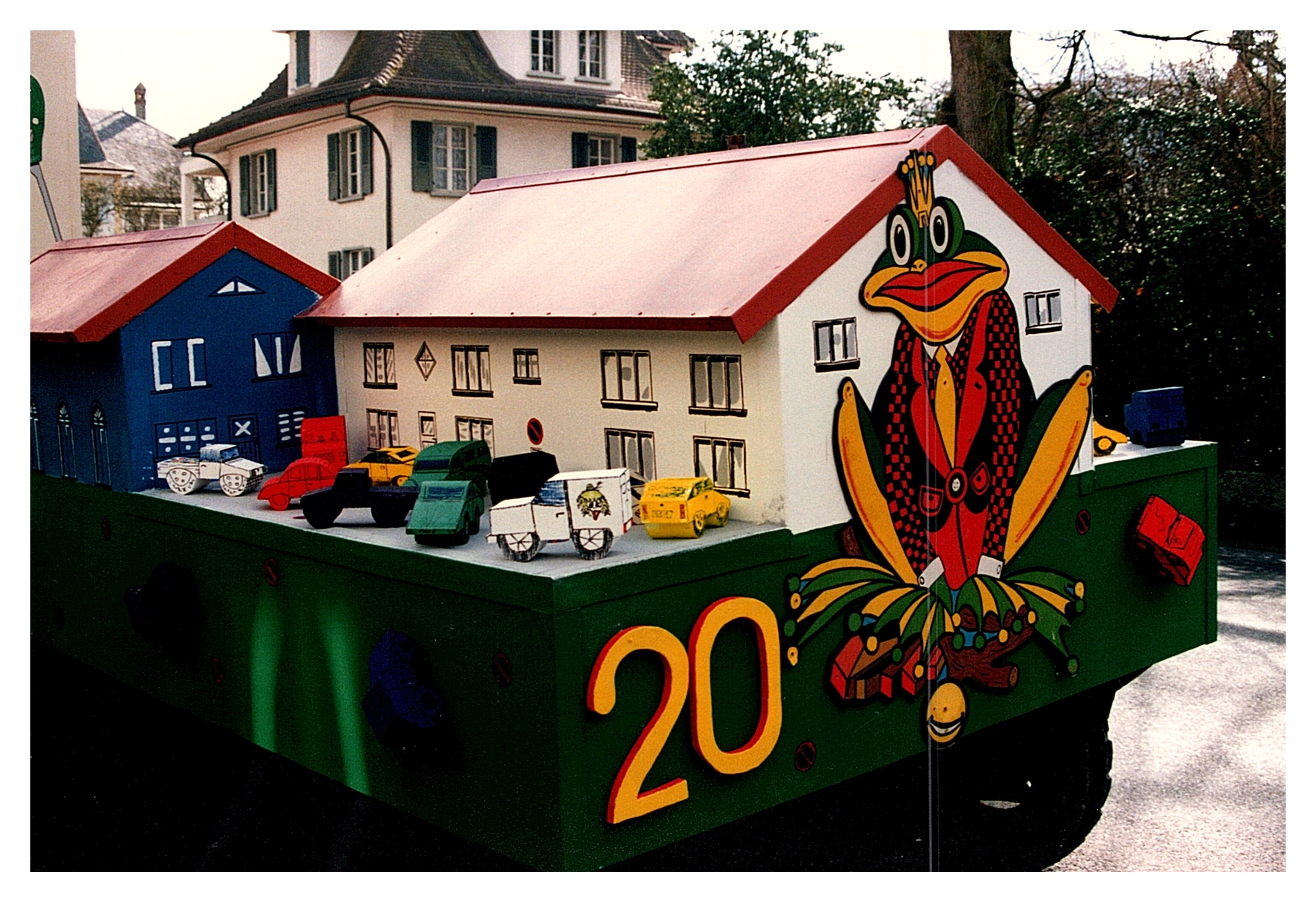 1993 Umzug